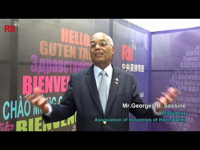 Interview with Mr.Georges B. Sassine, President of ADIH【央廣英語】