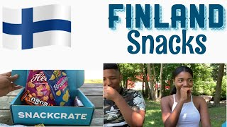 AMERICANS TRY FINLAND SNACKS