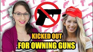Kicked Out For Owning Guns | Leyla Pirnie
