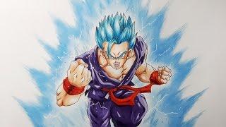 Drawing Gohan Super Saiyan Blue