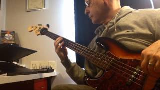 LONDON GIRLS by CHAS n DAVE Bass Cover