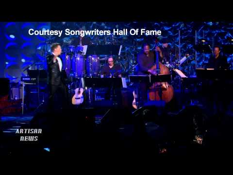 VAN MORRISON INDUCTED BY MICHAEL BUBLE INTO SONGWRITERS HALL OF FAME