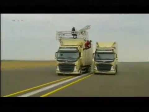 Jean Claude Van Damme Volvo Split is not a Fake