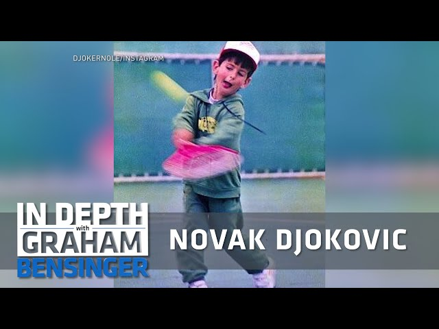 Novak Djokovic Choosing Tennis Over Skiing Youtube