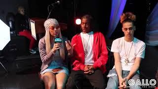 The Rap Game SoSoSummer17Tour Miss Mulatto, Mani, & Nova Interview
