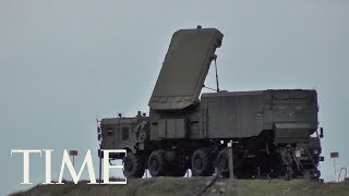 Russian Missile Defense System Begins Arriving In Turkey Despite Warnings From Washington | TIME