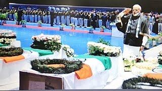 चुनावी ख़ुराक: राजनाथ सिंह की अध्यक्षता में सर्वदलीय बैठक संपन्न, शहीदों को दी गई श्रद्धाजंलि