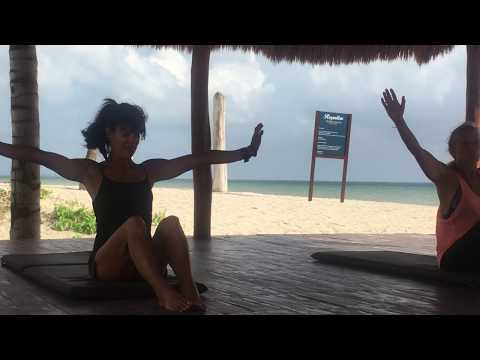 Rosalie Brown Beach Ab and Butt PiYo 20 minute Workout