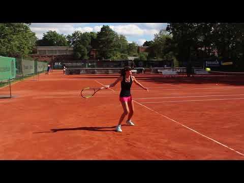 Alexandra Wolleschak - College Tennis Recruiting Video - Fall 2018