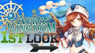 Looking to be the next Envoy of Gaia? Download Aura Kingdom and che...