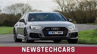 2018 Top Speed Audi RS4 Sedan Avant UK Review