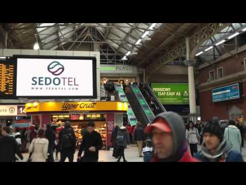 Sedotel in Victoria Station, London