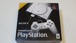 Playstation Classic Unboxing PS1 mini