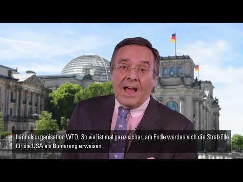 Ohoven: Warnung vor den Folgen des US-amerikanischen Protektionismus' für den Welthandel