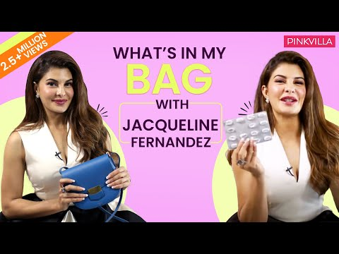 What's in my bag with Jacqueline Fernandez | Fashion | Bollywood | Pinkvilla