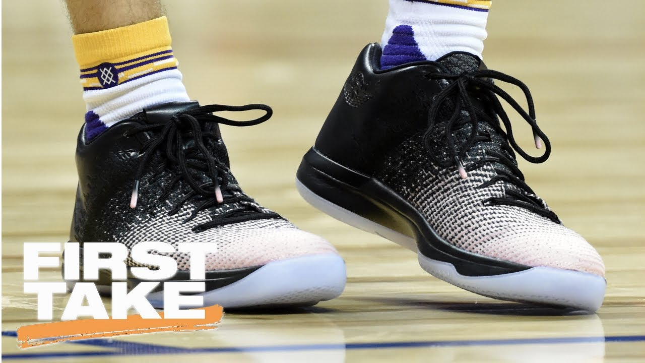 First Take On Lonzo Ball Shoe Deal And Nba Summer League First