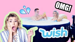 Video I Bought A HOT TUB From WISH!!!!!! WTF😱 download MP3, 3GP, MP4, WEBM, AVI, FLV Juni 2018