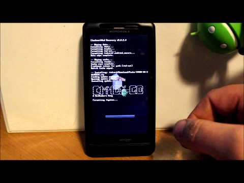How to install CM7 Rom on the Droid X