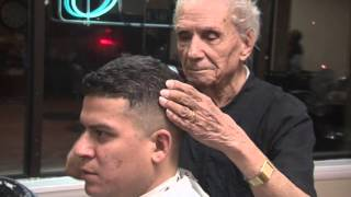 Gifted Hands Barber shop. Guinness World Records Anthony Mancinelli