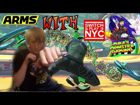 Catch These Arms with Switch and Play NYC 7-31-2017