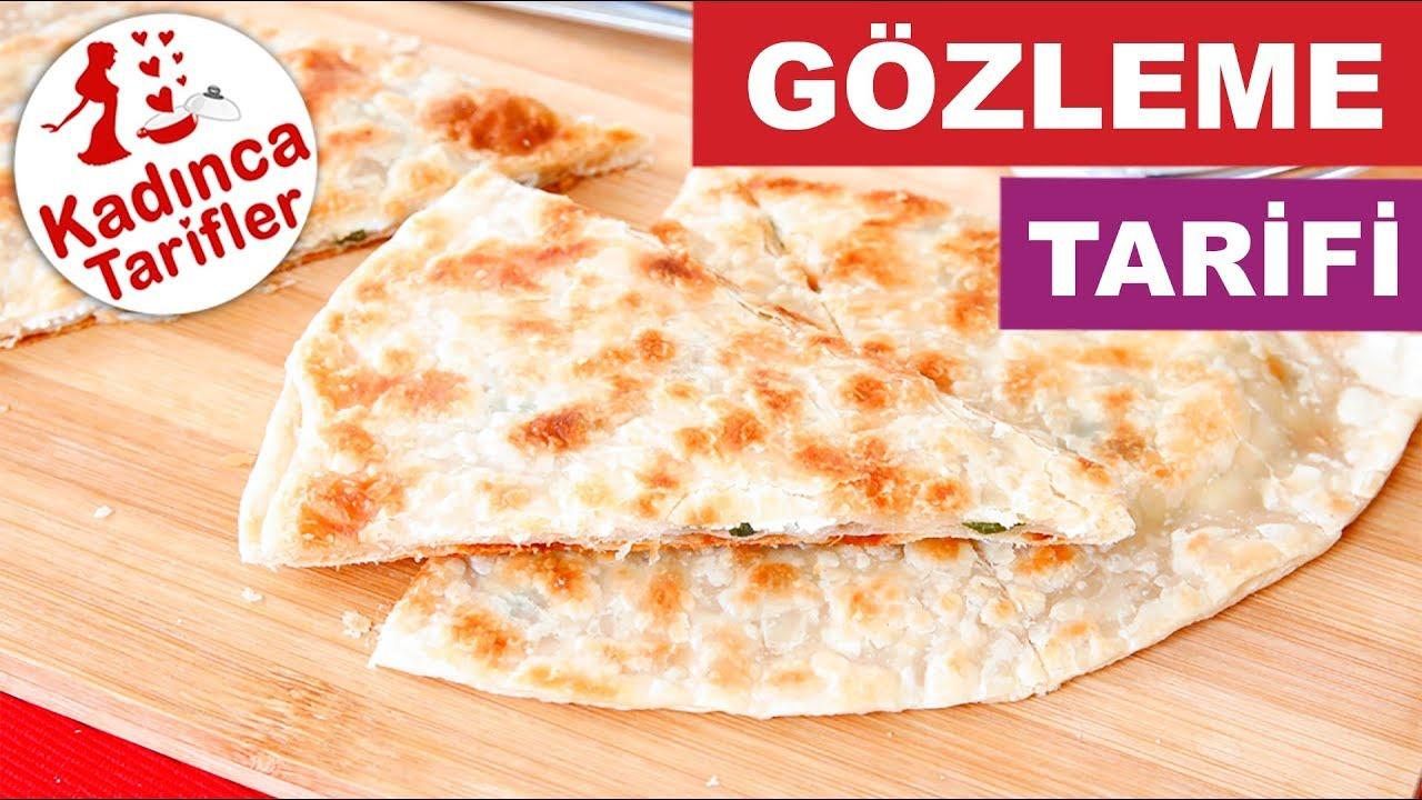 Milföy Hamuru ile Gözleme Tarifi