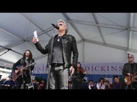 Bon Jovi crashes FDU's 2017 commencement (PHOTOS)