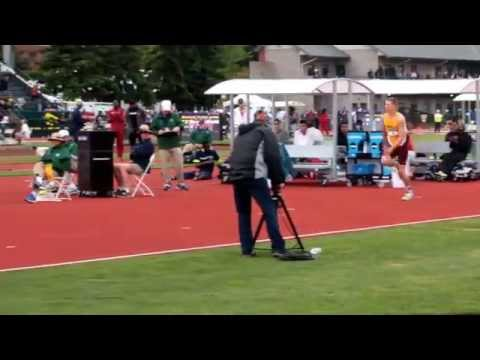 Wally Ellenson 3rd attempt  at 2.20M