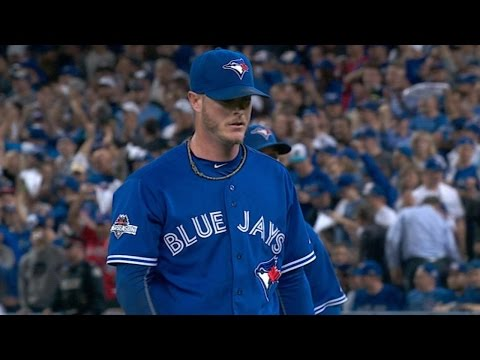 ALCS Gm3: Lowe pitches 1-2-3 inning in 8th
