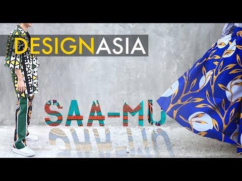African textiles meets Thai designer SAA-MU - DesignAsia-EP11