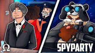 BEWARE OF JIGGLY'S KEEN EYE! | Spy Party #6 Funny Moments Ft. BigJigglyPanda