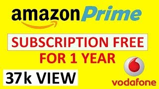 How to Activate FREE Amazon-prime Membership Vodafone RED Postpaid plans