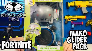 FORTNITE TOYS MAKO GLIDER PACK With Launch Pad & Flight Stand From McFarlane Toys