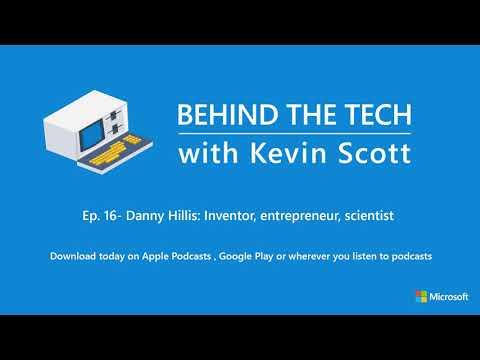 Episode 16 – Danny Hillis: Inventor, Entrepreneur, Scientist