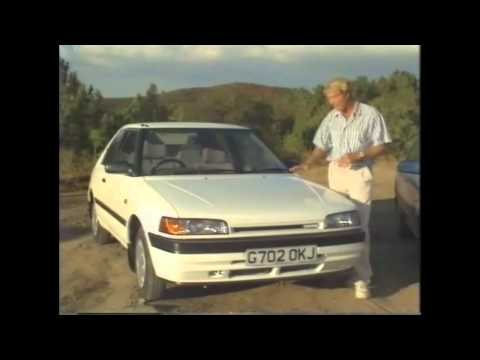 Old Top Gear 1989 - Mazda 323