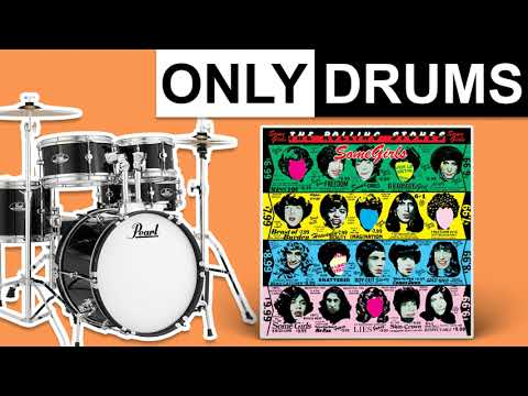Beast Of Burden (Remastered 1994) - The Rolling Stones | Only Drums (Isolated)