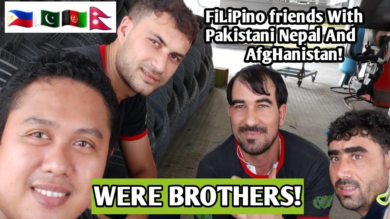Filipino, pakistani, afghani and nepal Were BROTHERS ...