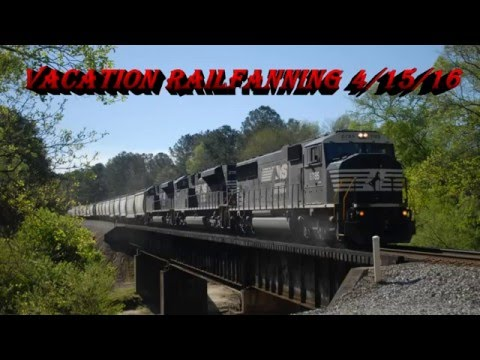 Vacation Railfanning 4/15/16: NS & CSX Mayhem in Central and West Georgia
