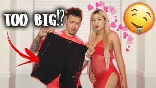 COUPLES BUY EACHOTHERS OUTFITS CHALLENGE!! (I BOUGHT HER SOMETHING CRAZY!)