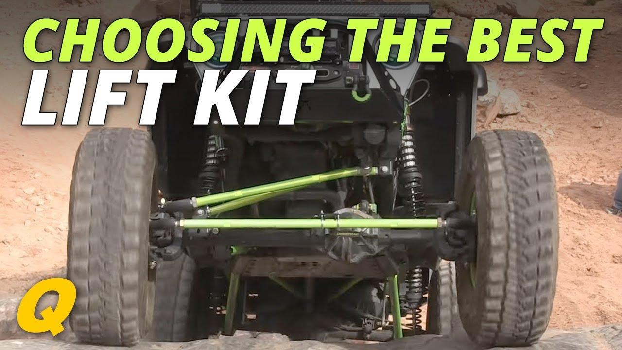 Choosing The Best Lift Kit For Your Jeep Wrangler