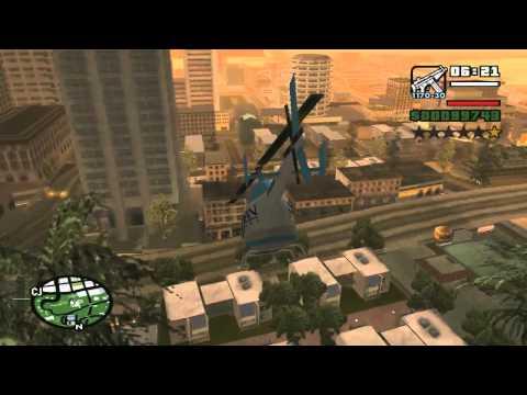 GTA San Andreas Get San News Chopper