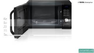 Samsung 23 Litres MS23F301TAK Solo Microwave Oven