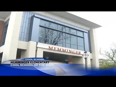 Cool School: Memminger Elementary School receives the Cool School of the Week Award