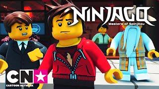 LEGO Ninjago | Herbatki Wu: Zakręcone szyldy| Cartoon Network