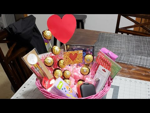DIY Mothers day gift basket / 2018