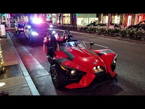 The Beverly Hills Cops Impounded His Car...