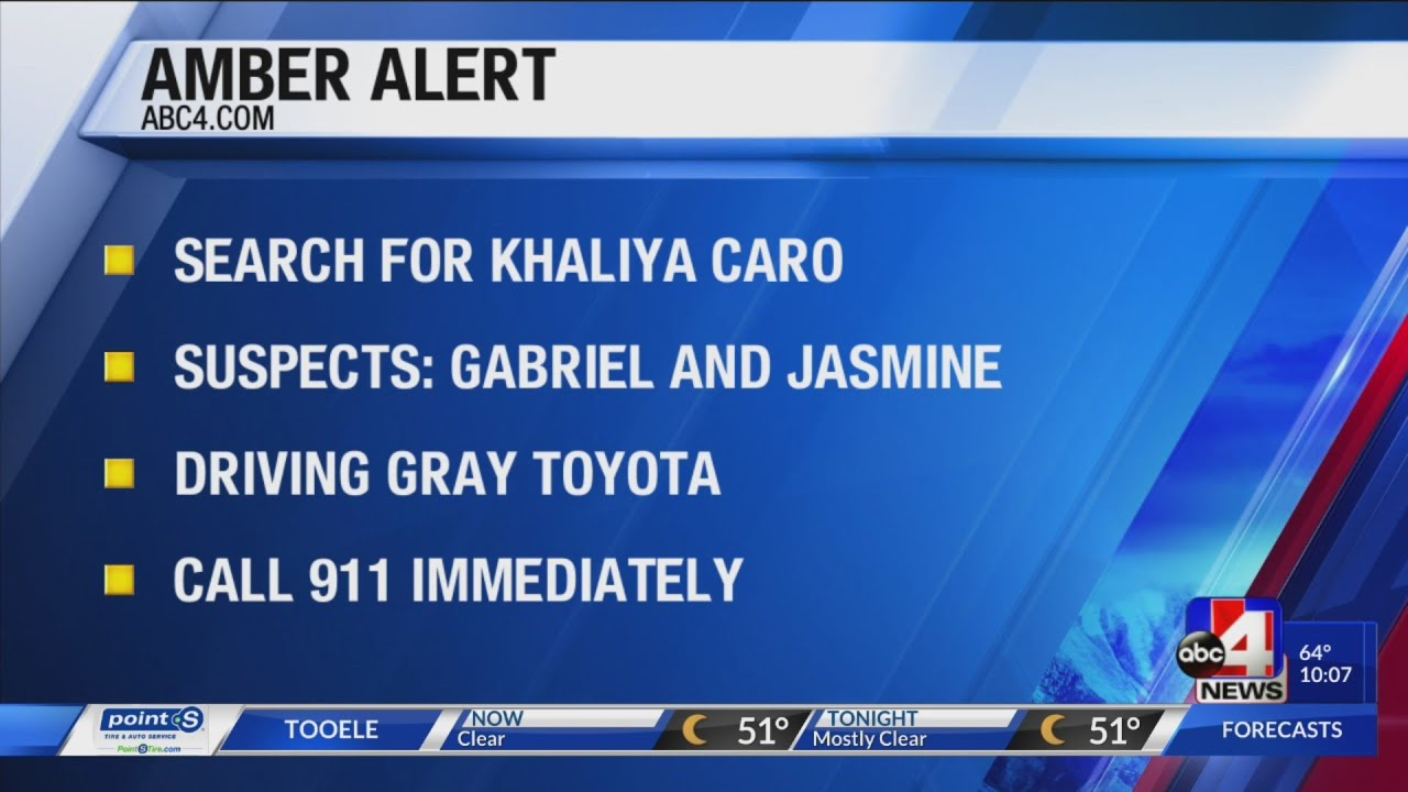 South Salt Lake police issue Amber Alert for missing four year old