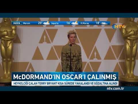 Frances McDormand'ın Oscar heykelciği çalınmış