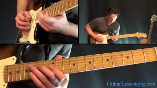 Sweet Home Alabama Guitar Lesson Pt.3 - Lynyrd Skynyrd - Main Solo