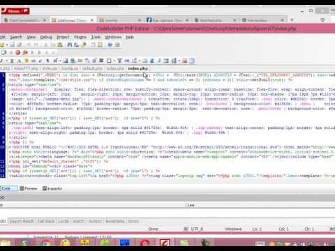 J06 OneScript и Joomla