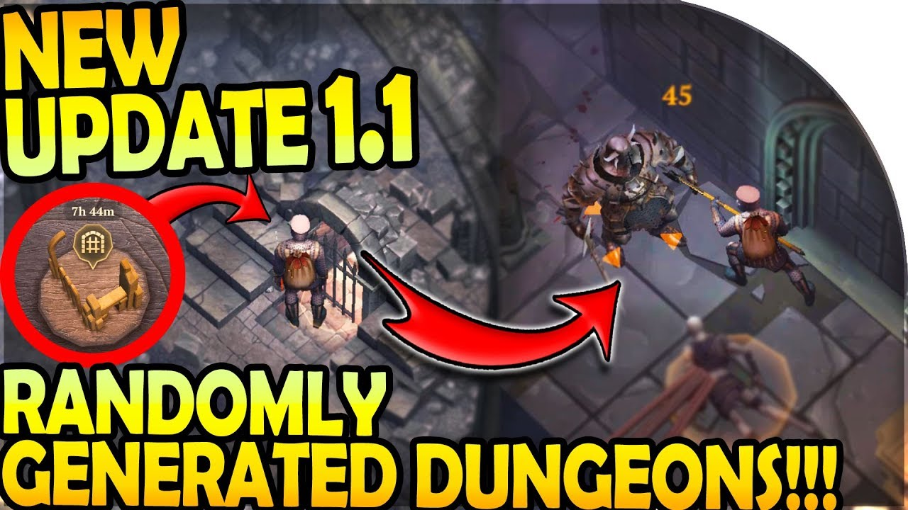 NEW UPDATE 1 1 - NEW RANDOMLY GENERATED DUNGEON OF THE FORSAKEN - Grim Soul  Dark Fantasy Survival